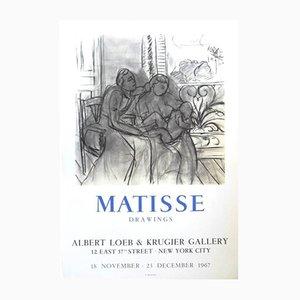 Affiche Exhibition par Henri Matisse, 1967