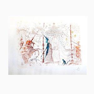 Gravure à l'Eau Forte Gala My Only Desire par Salvador Dali, 1965