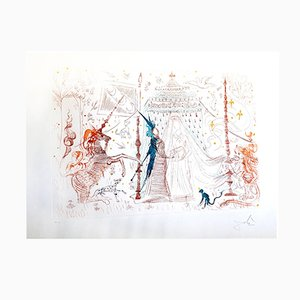 Incisione Gala My Only Desire di Salvador Dali, 1965