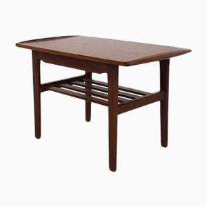 Table d'Appoint en Teck, 1950s