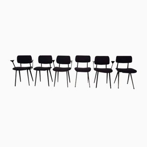 Chairs by Friso Kramer for Ahrend de Cirkel, 1950s, Set of 6