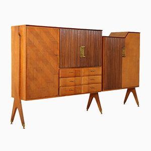 Teak Veneer Cupboard, 1960s