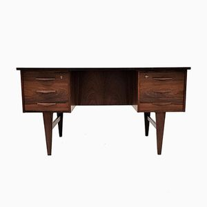 Danish Rio Rosewood Freestanding Desk, 1960s