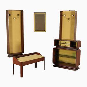 Vintage Rosewood Veneered Furniture Set