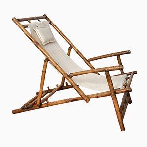 Bamboo Lounge Chair, 1980s