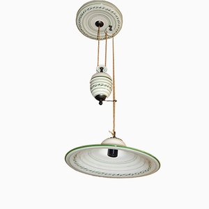 Lampada da soffitto vintage regolabile