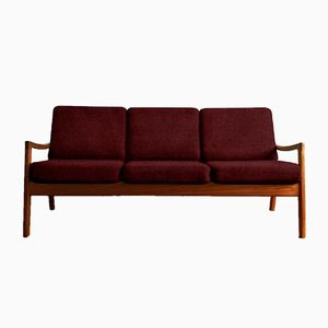 Customizable Vintage Teak Senator Sofa by Ole Wanscher for France & Søn
