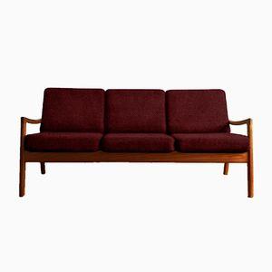 Customizable Vintage Teak Senator Sofa by Ole Wanscher for France & Søn