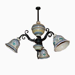 Lampada vintage verde