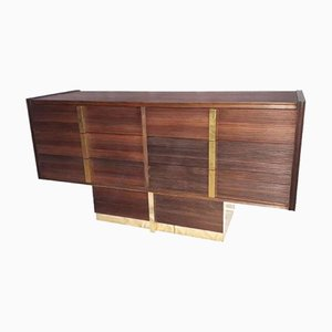 Rosewood & Brass Dresser, 1950s
