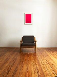 Vintage Oak 530 Armchair by Hans J. Wegner for Getama