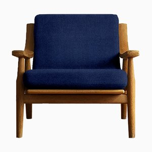 Customizable Vintage Oak 530 Armchair by Hans J. Wegner for Getama