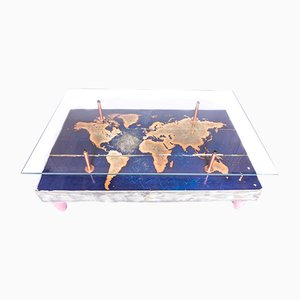 World Map Coffee Table from Cappa E Spada, 2015