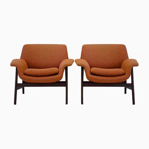 Model 849 Armchairs by Gianfranco Frattini for Cassina, 1950s, Set of 2