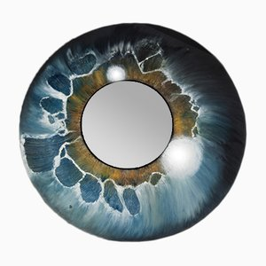 All Eyes on You Hand-Painted Mirror by Atelier MIRU