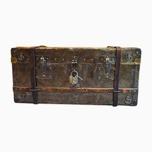 Metal Travel Trunk, 1940s