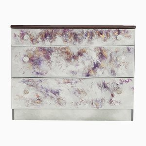 Where Did He Go? Hand-Painted Chest of Drawers by Atelier MIRU