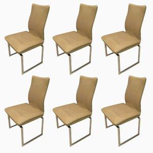 Esszimmerstühle von Pieff, 1970er, 6er Set