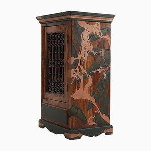 Mueble modelo Strangled pintado a mano de Atelier MIRU