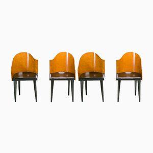 Toscana Chairs by Piero Sartogo & Nathalie Grenon for Saporiti, 1986, Set of 4