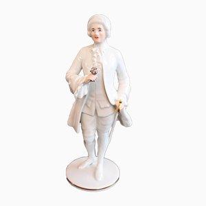 Vintage Rosenkavalier Figurine from Augarten Porzellan