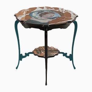 Tavolino You are a Vision dipinto a mano Vision di Atelier MIRU