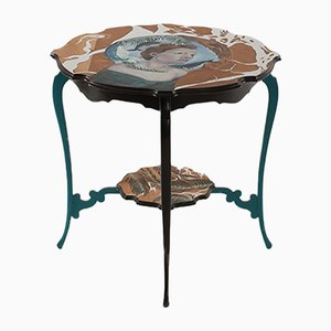 You are a Vision Hand-Painted Side Table by Atelier MIRU