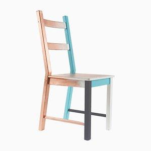 Handbemalter Modell Misplaced Stuhl von Atelier MIRU