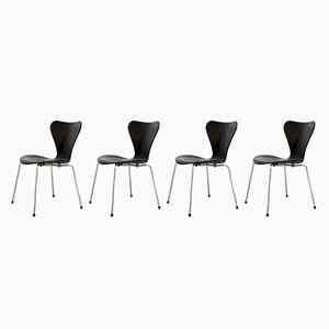 Vintage Chairs by Arne Jacobsen for Fritz Hansen, Set of 4