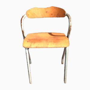 Französischer Vintage Kinderstuhl