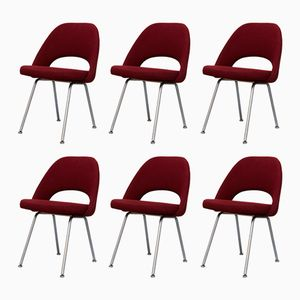 Nr 72 Armchairs by Eero Saarinen for Knoll, 1950s, Set of 6