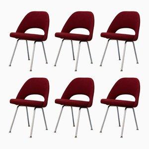 Nr 72 Armlehnstühle von Eero Saarinen für Knoll, 1950er, 6er Set