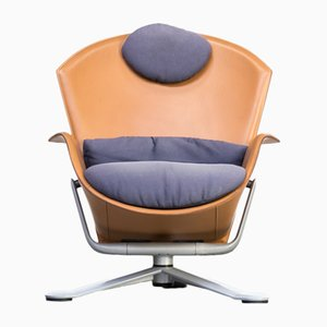 Ypsilon Swivel Lounge Chair from Matteo Grassi, 1990s