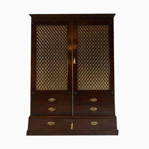 Antique Mahogany Wardrobe, 1850s