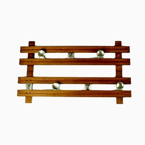 Teak Model 1802 Coat Rack by Ico Parisi for Stildomus, 1960s