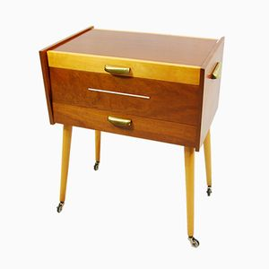 German Sewing Cabinet from Ernst Strauss Holtzwarenfabrik, 1960s