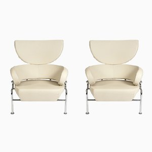 Vintage PL19 Lounge Chairs by Franco Albini for Poggi, Set of 2