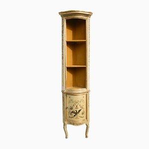 Antique Italian Corner Cabinet