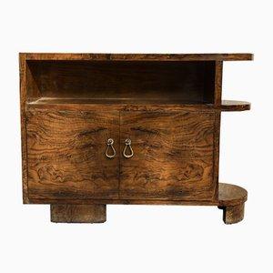 Mueble italiano Art Déco con partes de madera de brezo