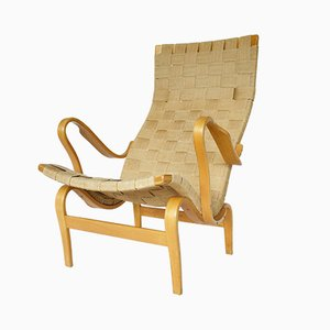 Pernilla Lounge Chair by Bruno Mathsson for Firma Karl Mathsson, 1976