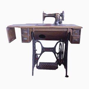Máquina de coser de S.A. Vittorio Necchi Pavia, años 30