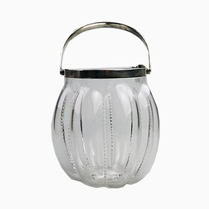 Silver-Plated Biscuit Jar from Hukin & Heath, 1910s