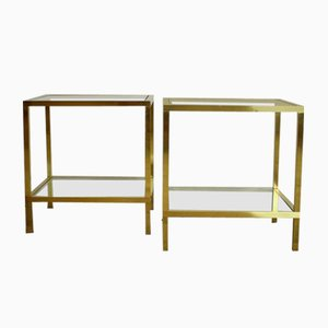 Side Tables, 1970s, Set of 2