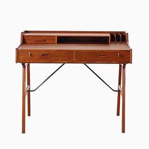 Skandinavischer Mid-Century Modell 56 Schreibtisch aus Teak von Arne Wahl Iversen für Vinde Mobelfabrik