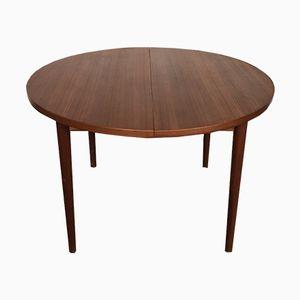 Round Malta Teak Table by Nils Jonsson for Hugo Troeds, 1960s