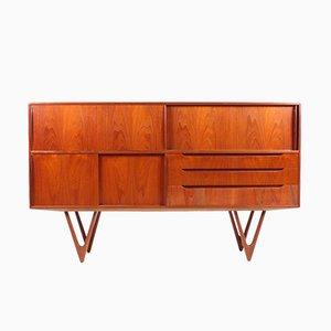 Dänisches Sideboard aus Teak von Kurt Østervig für KP Møbler, 1960er