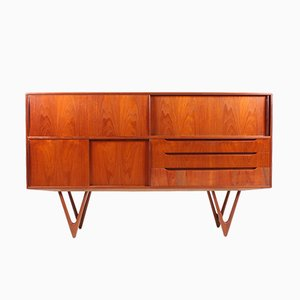 Danish Teak Sideboard by Kurt Østervig for KP Møbler, 1960s