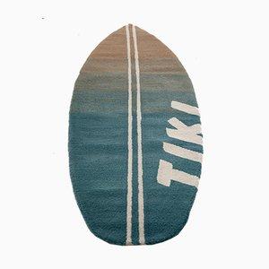 Tiki Wollteppich in Surfbrettform von unosolo, 2014
