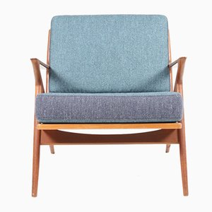 Mid-Century Teak Lounge Chair by Poul Jensen for Chr. Jensen Møbelsnedkeri
