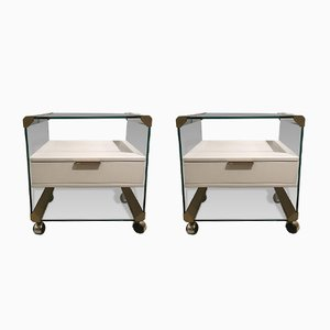 Bedside Tables by Gallotti & Radice, 1970s, Set of 2